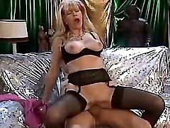 Beautiful milf sucks and rides cock