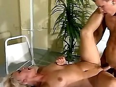 Old patient fucked by young doctor