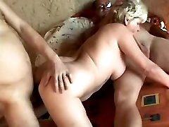 Wild mature in sex action