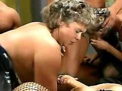 Old retired sluts in orgy