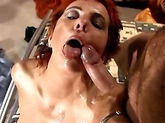 Redhead milf longs for fresh jizz