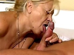 Respectable 60 yo madam seduces doc
