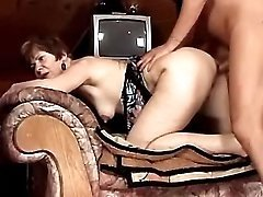 Housewife fucked in attic