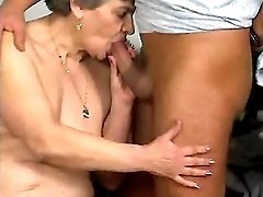 Spoiled granny prefers fresh cock