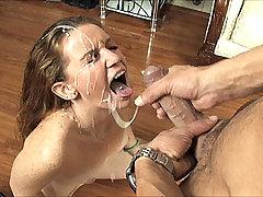Emily Eve Cumshot Facial Handjob