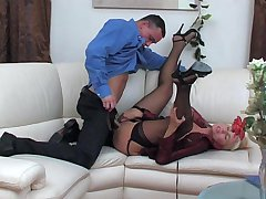 Bridget&Connor red hot mature action