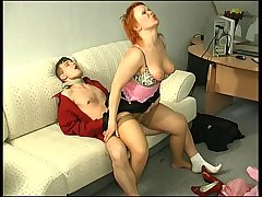 Ophelia&Jerry red hot mature action