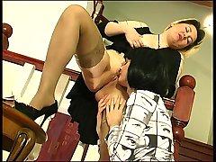 Felicia&Ninon pussyloving mom on video