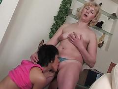 Emilia&Sheila mature lesbian movie