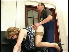 Elinor&Donald passionate mature action