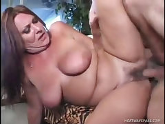 Anastasia sands lusty milf enjoys cock