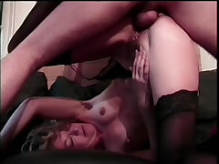 Slender milf given a punishing fucking