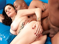 Can Rita's Asshole Survive Lucas's Big, Black Cock?