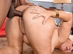 Interracial MILF Booty