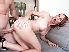 April cums many times