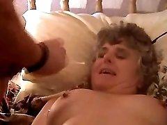 Chubby mature fucks n gets cumshot